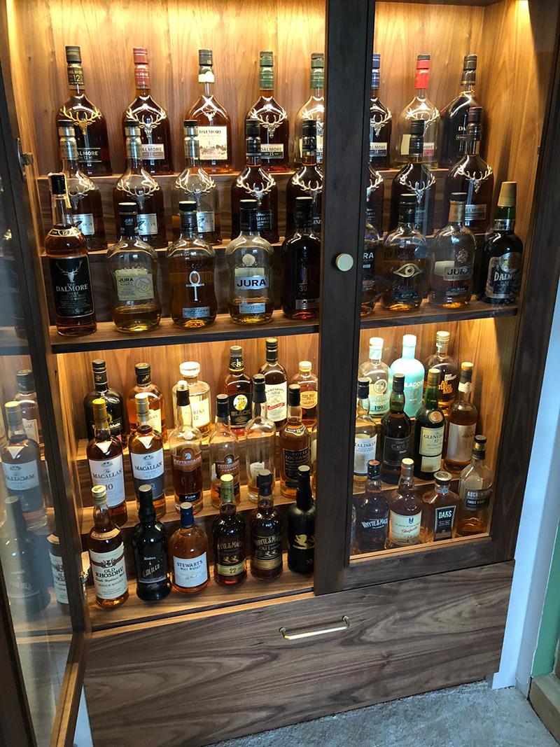 Living Room - Aperture - Drinks Cabinet