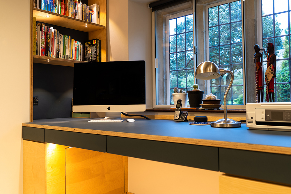 Study and Office Spaces - Aperture - Bespoke Furniture