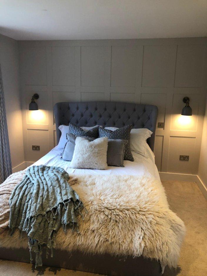 Foot of custom bed