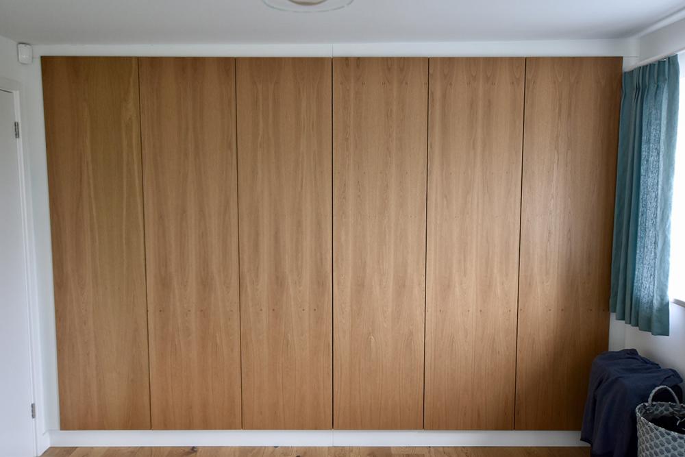 Custom Brown Wardrobe