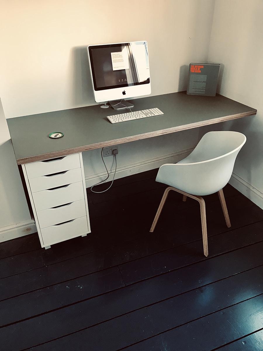 Computer Desk & Work Area