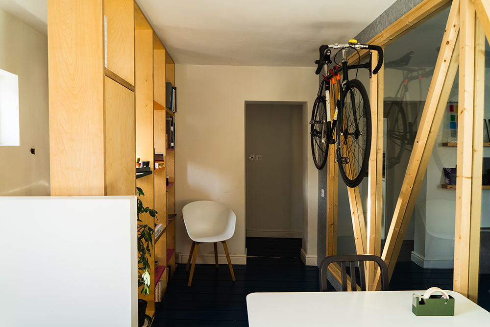 Plywood Rack and Shelving