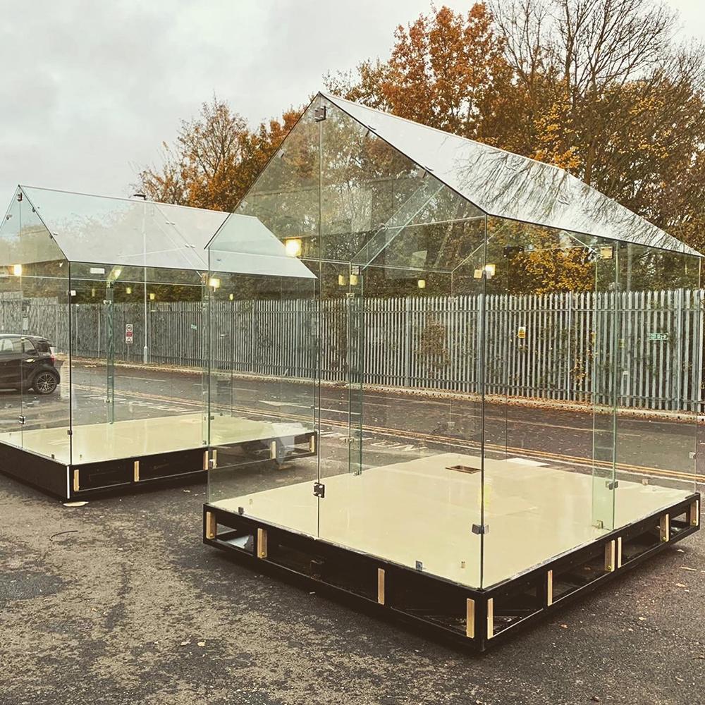 Outdoor Glass Housing