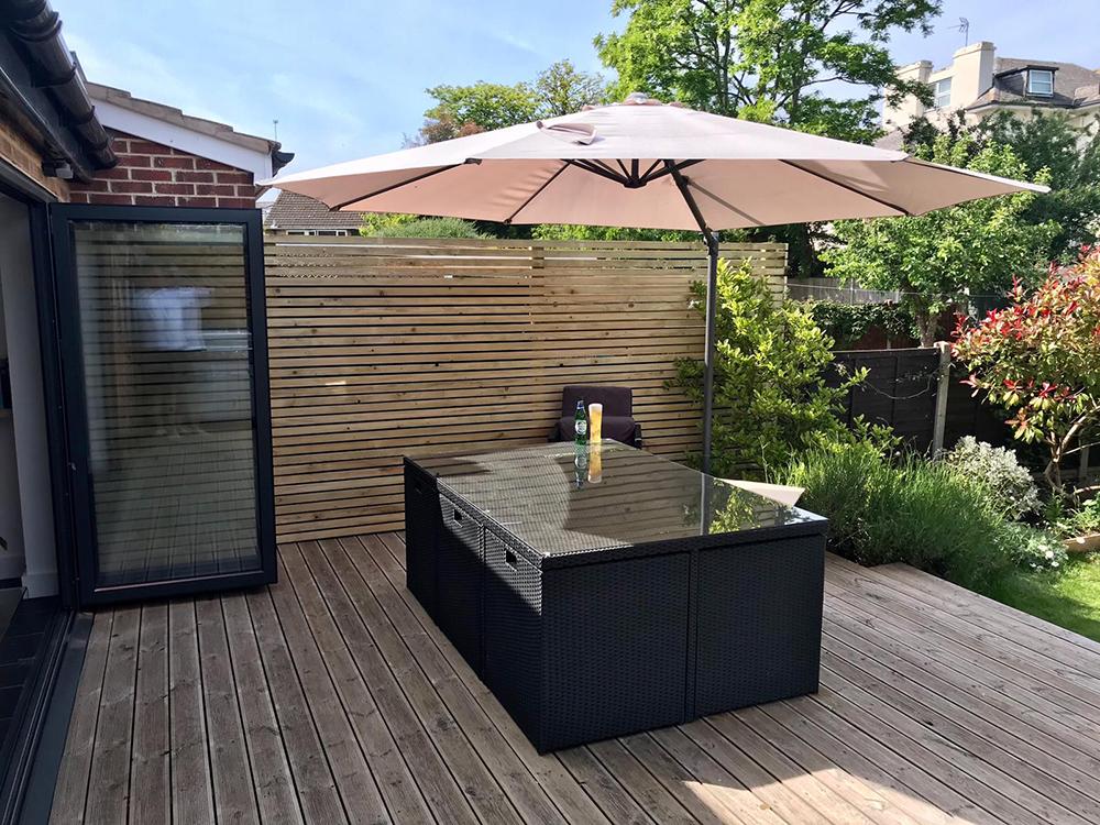 Aperture - Furniture On Outdoor Decking