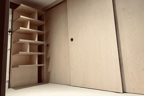 Innovation - Plywood Wardrobe