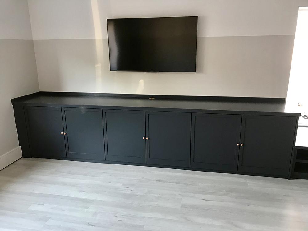 Grey TV Unit