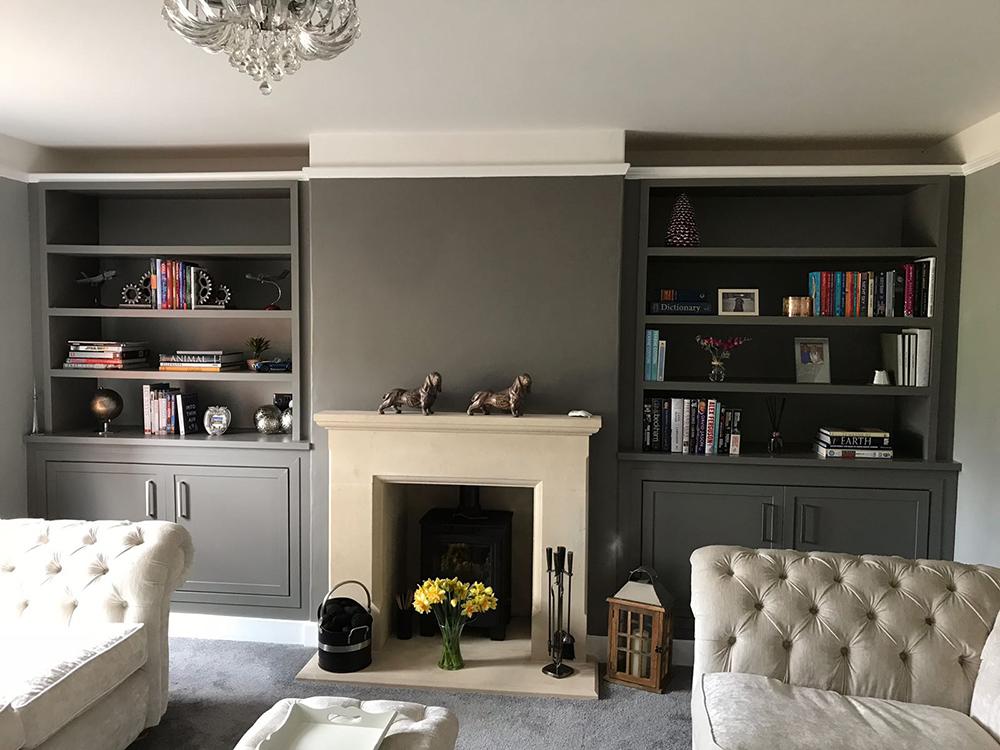 Grey Open Living Space
