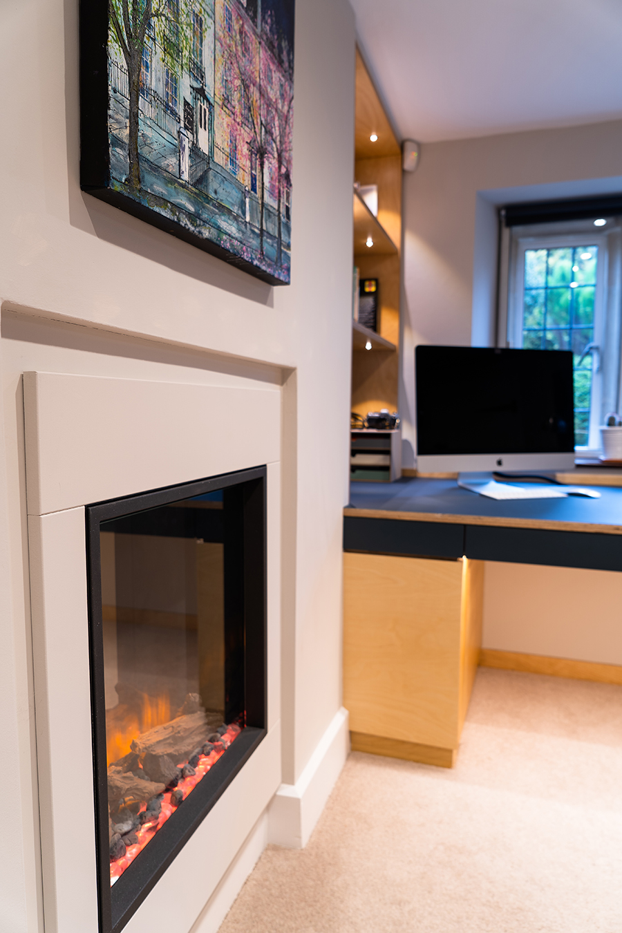 Office Fire Place