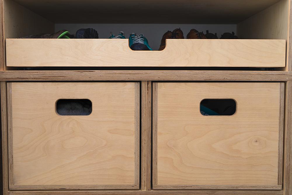 Bespoke Shoe Storage