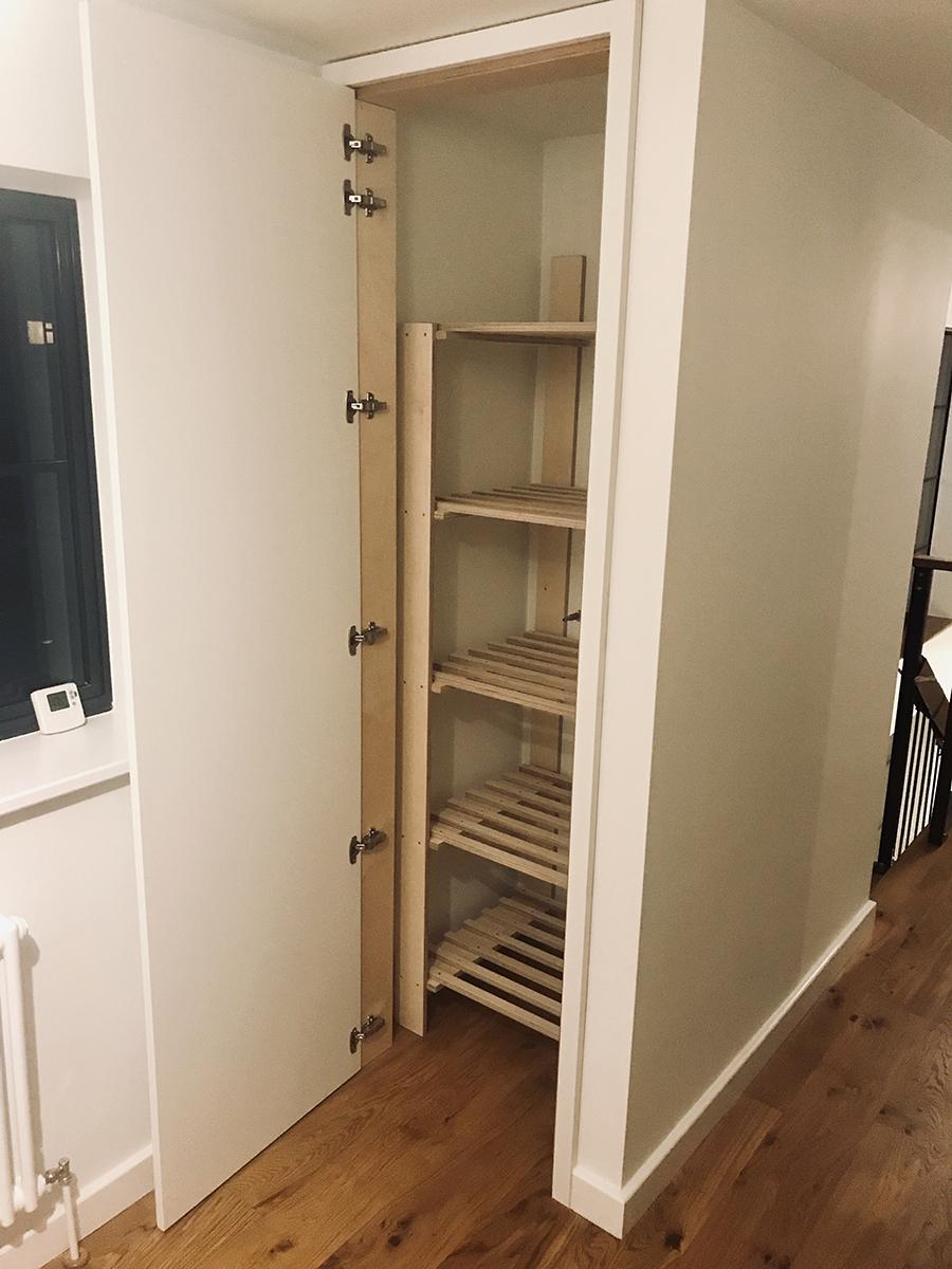 Thin Airing Cupboard