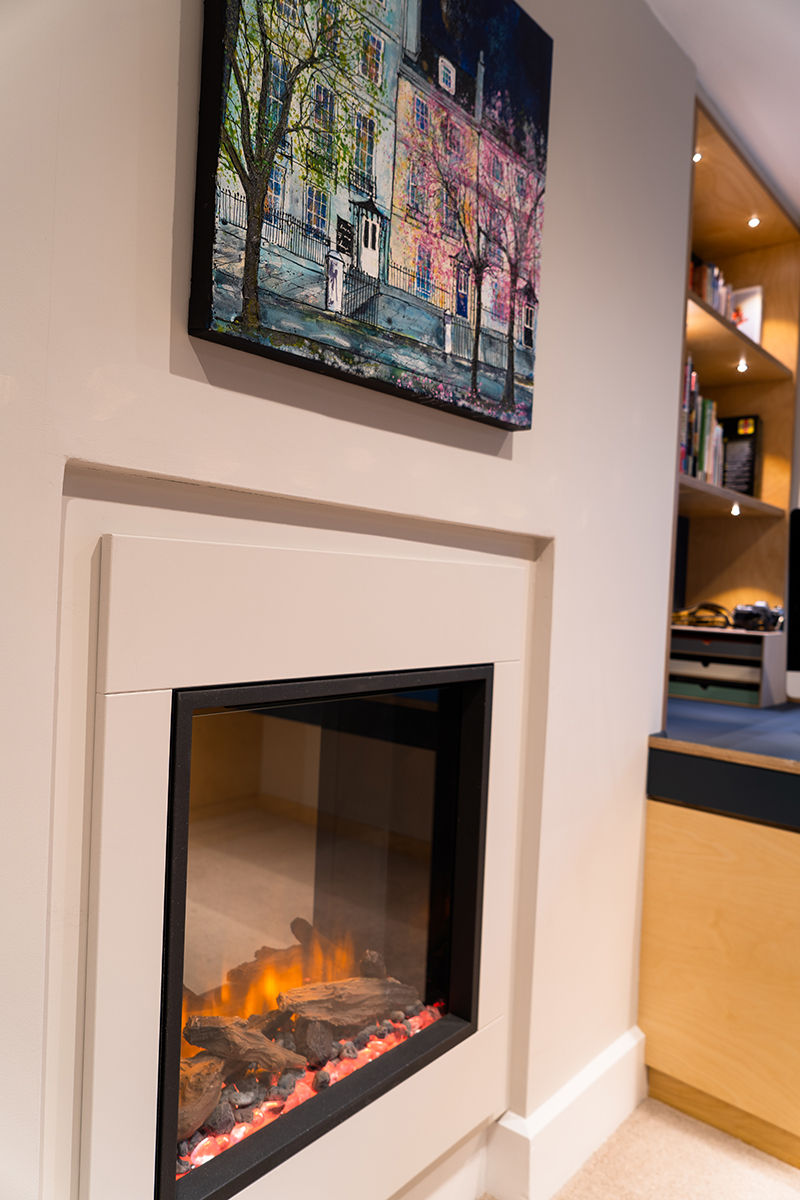 In Built Electric Fireplace